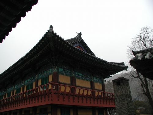 republic of korea buddhism traditional temples