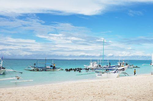 republic of the philippines boracay sea