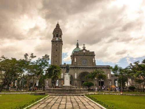 republic of the philippines,manila,cathedral,church