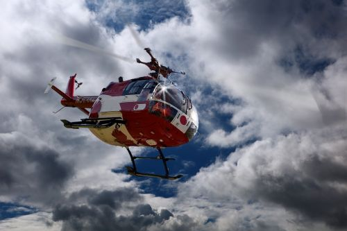 rescue helicopter doctor on call air rescue