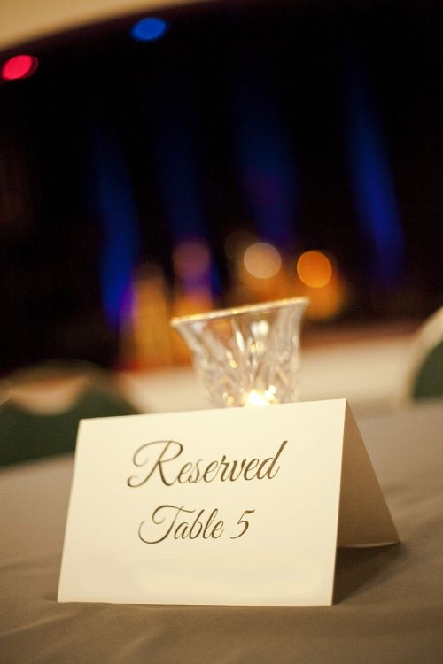 reservation event table