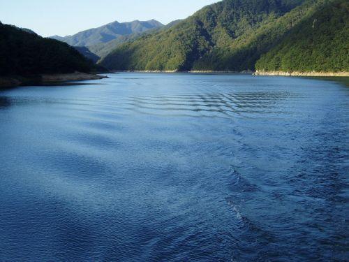 reservoir gangwon do mountain