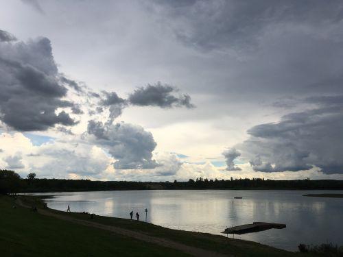 reservoir storm saxony