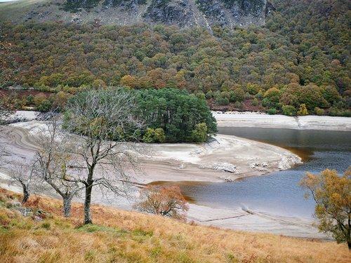 reservoir  drought  landscape