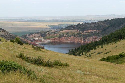 reservoir  bighorn  montana