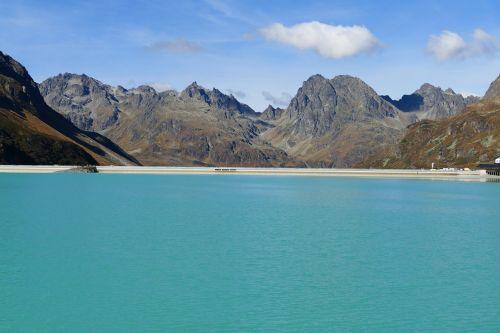 reservoir dam silvretta
