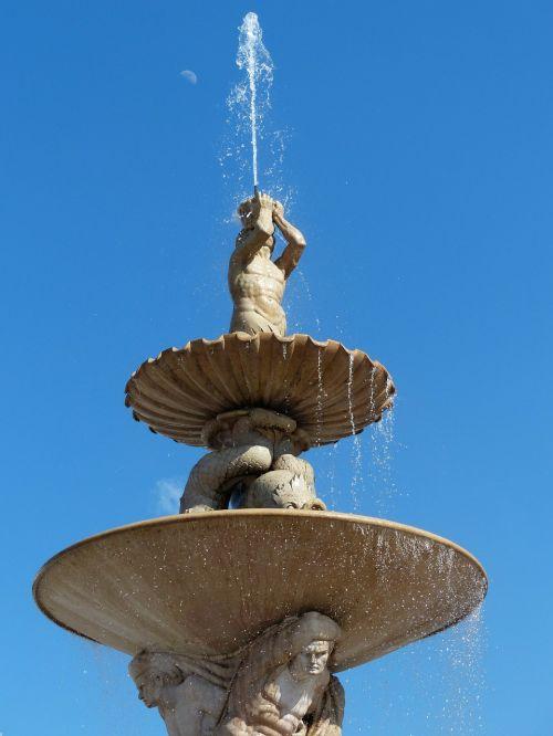 residence fountain fountain triton