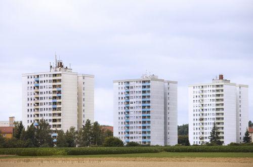 residential area skyscraper home