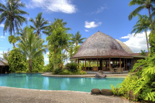 resort samoa swimming pool