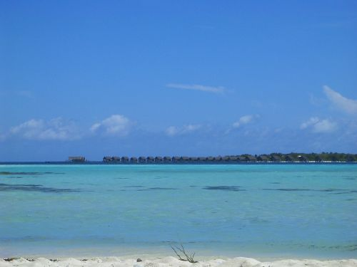 resort paradise blue sea