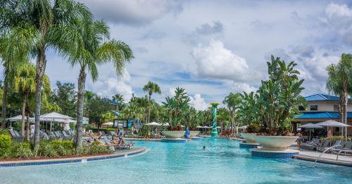 resort pool tropical