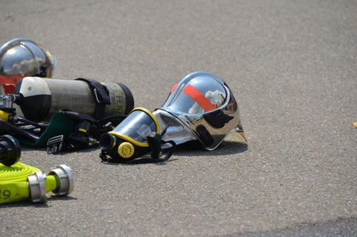respiratory protection gas mask fire
