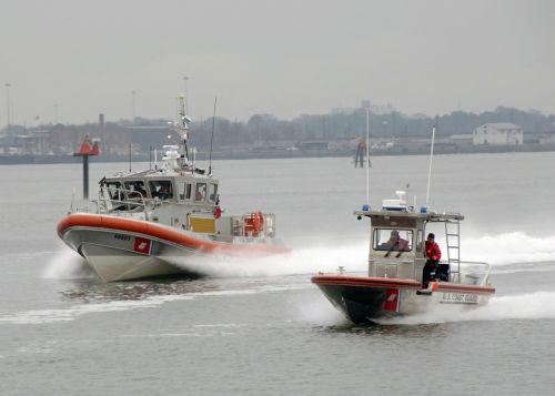 response boats testing crews