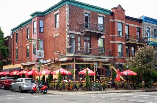 restaurant street café urban