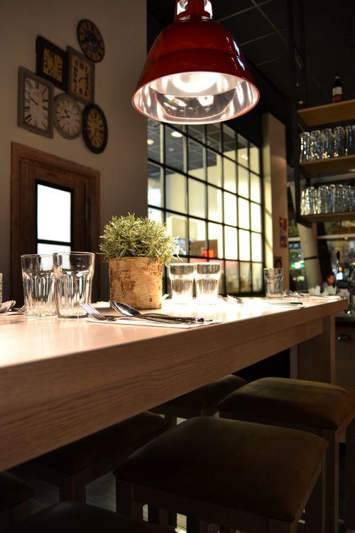 restaurant interior industrial design