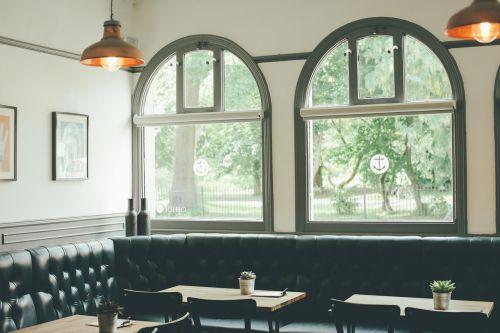 restaurant cafe tables