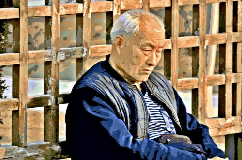Resting Senior