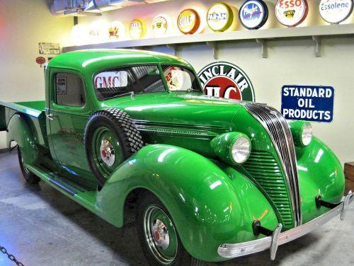 restored pick up truck antique canadian museum