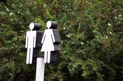 restroom sign restroom sign