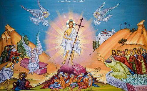 resurrection iconography church