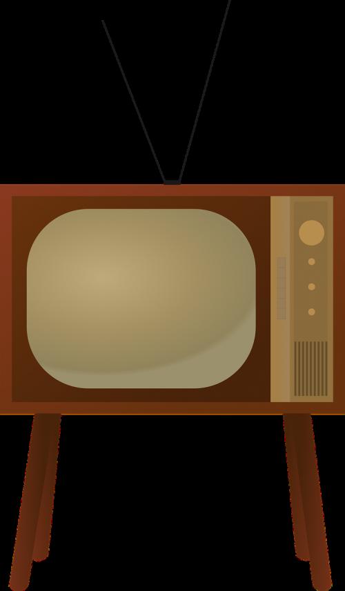 retro antique television