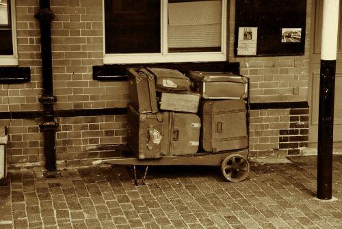 retro retro luggage travel