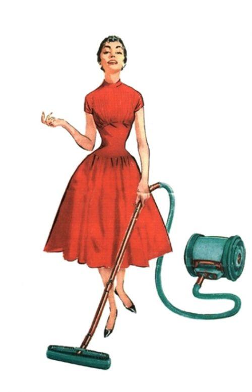 retro vintage lady