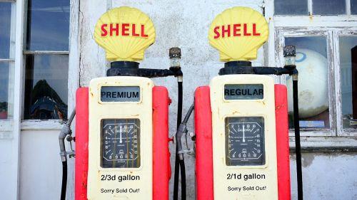 retro petrol pump pump