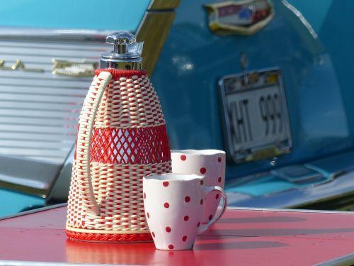 retro thermos mugs