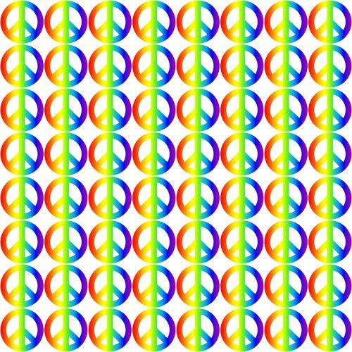 retro rainbow gradient