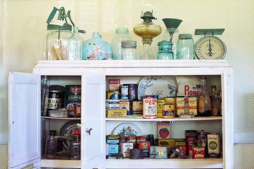 retro vintage kitchen