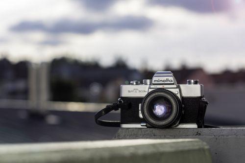 retro camera analog