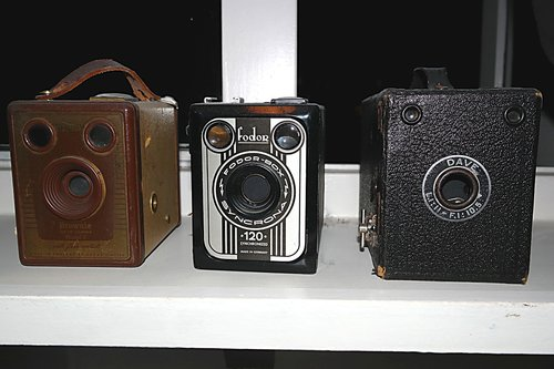 retro  camera  outdated