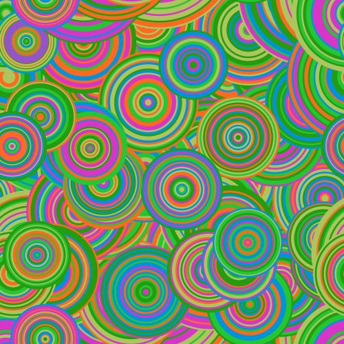 retro mod abstract