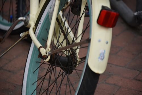 Retro Bike Back Tire