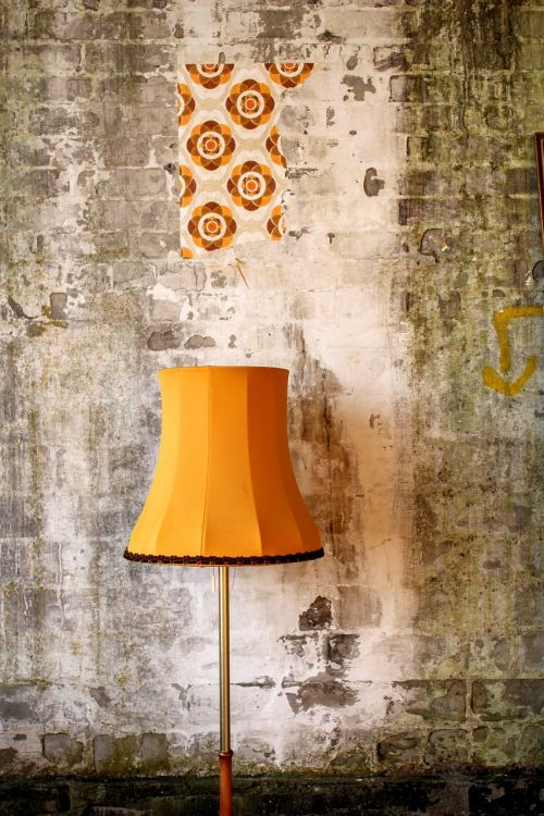 retro lampshade retro lamp 70th