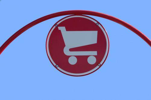 Return Cart Sign