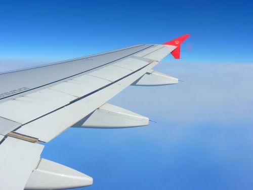 return flight aircraft home