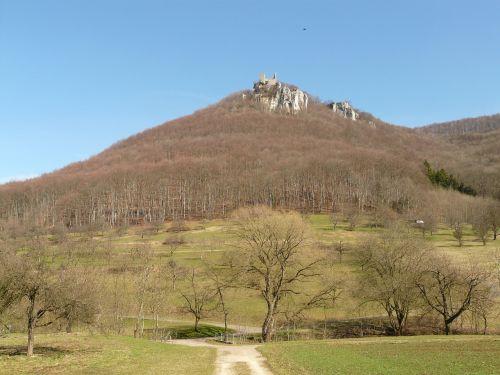 reußenstein castle ruin