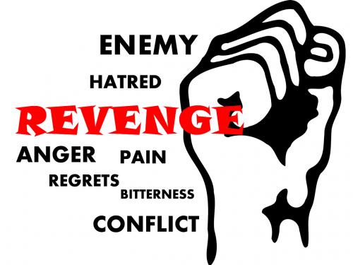 revenge enemy anger