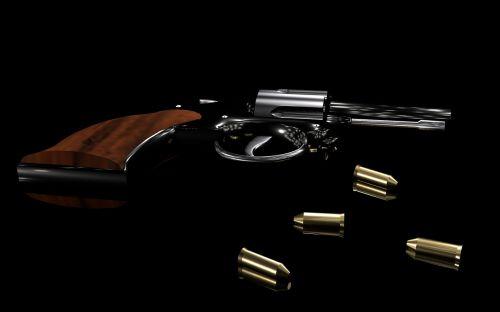 revolver weapon cartridge