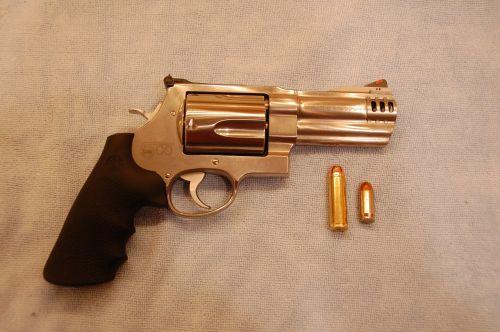 revolver pistol handgun