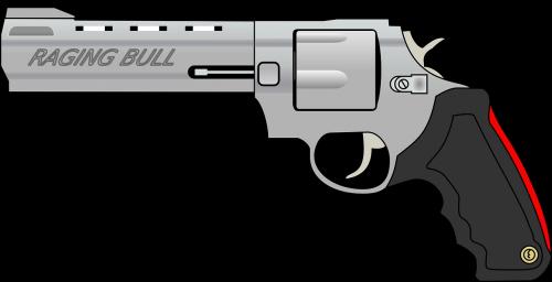 revolver pistol fire
