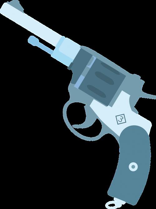 revolver weapon gun