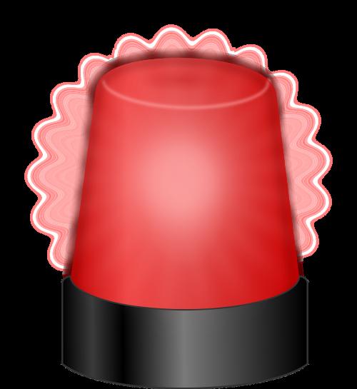revolving light warning light alarm
