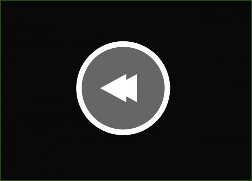 rewind button music button icon