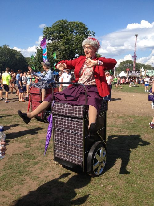 rewind festival old lady costume
