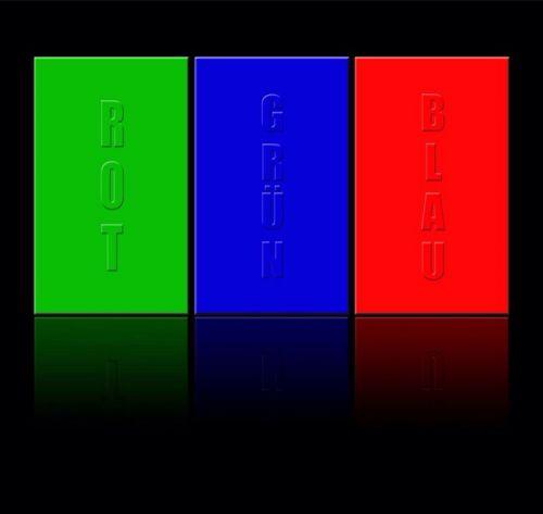 rgb rotary colors spectrum