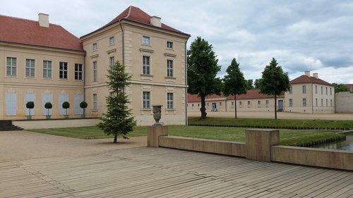 rheinsberg  castle  brandenburg