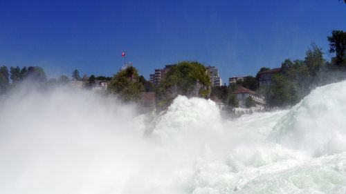 rhine rhine falls river